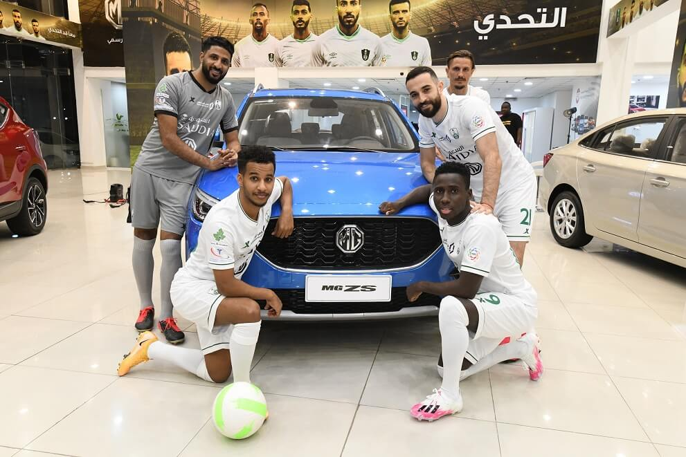 MG hosts an elite of Al Ahli Saudi Club champions
