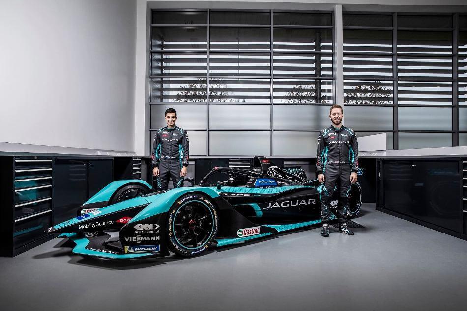 Jaguar Racing I TYPE 5 Mitch Evans Sam Bird