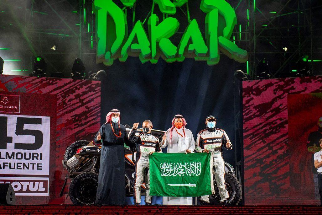 Saeed Al Mouri in Dakar Rally 2021