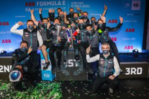 Bird's victory in the second of two back-to-back Diriyah E-Prix