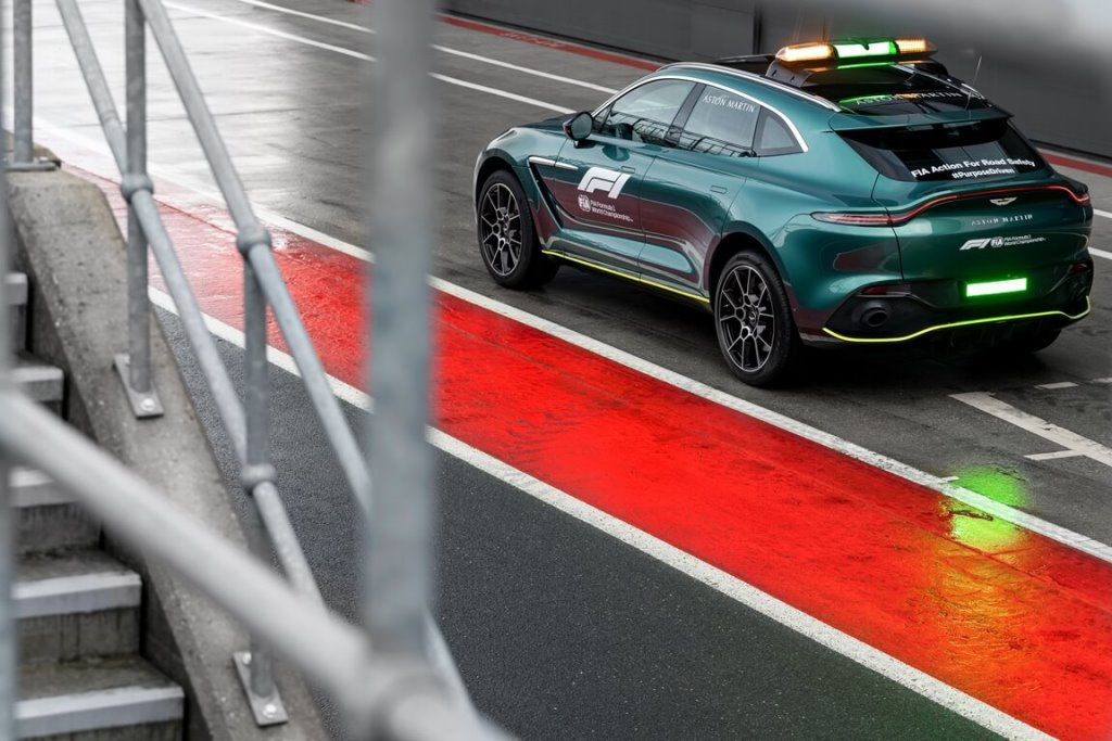 Aston Martin DBX Official Medical Car of Formula One 02 The History of Saudi Motorsports
