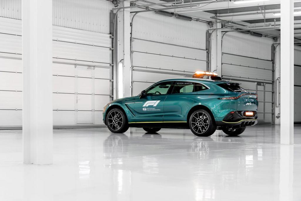 Aston Martin DBX_Official Medical Car of Formula One