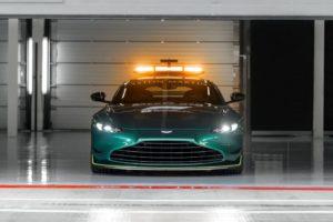 Aston Martin Vantage Official Safety Car of Formula One