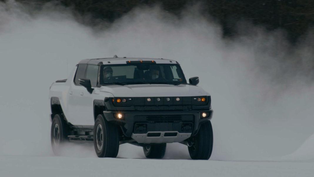 GMC Tests HUMMER EV in Sub-Zero Conditions