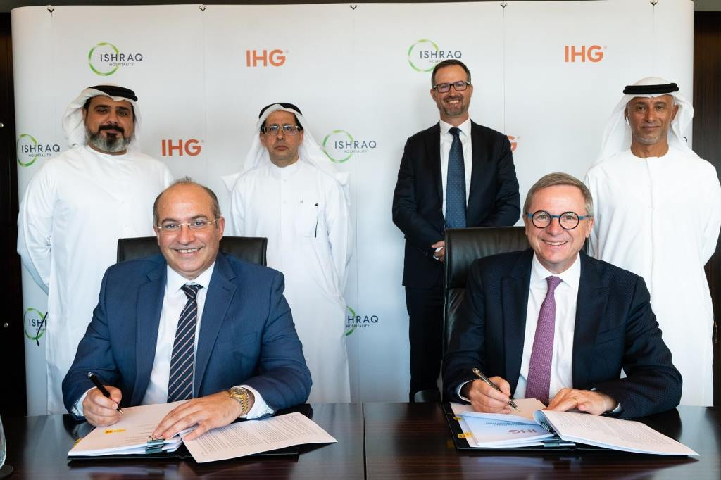 IHG® signs MDA with Ishraq Hospitality to open 8 new Holiday Inn Express hotels across MEA