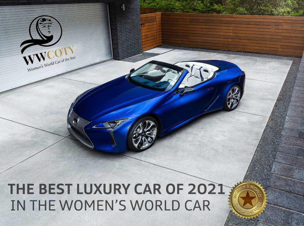 Lexus LC Convertible named the Best Luxury Car