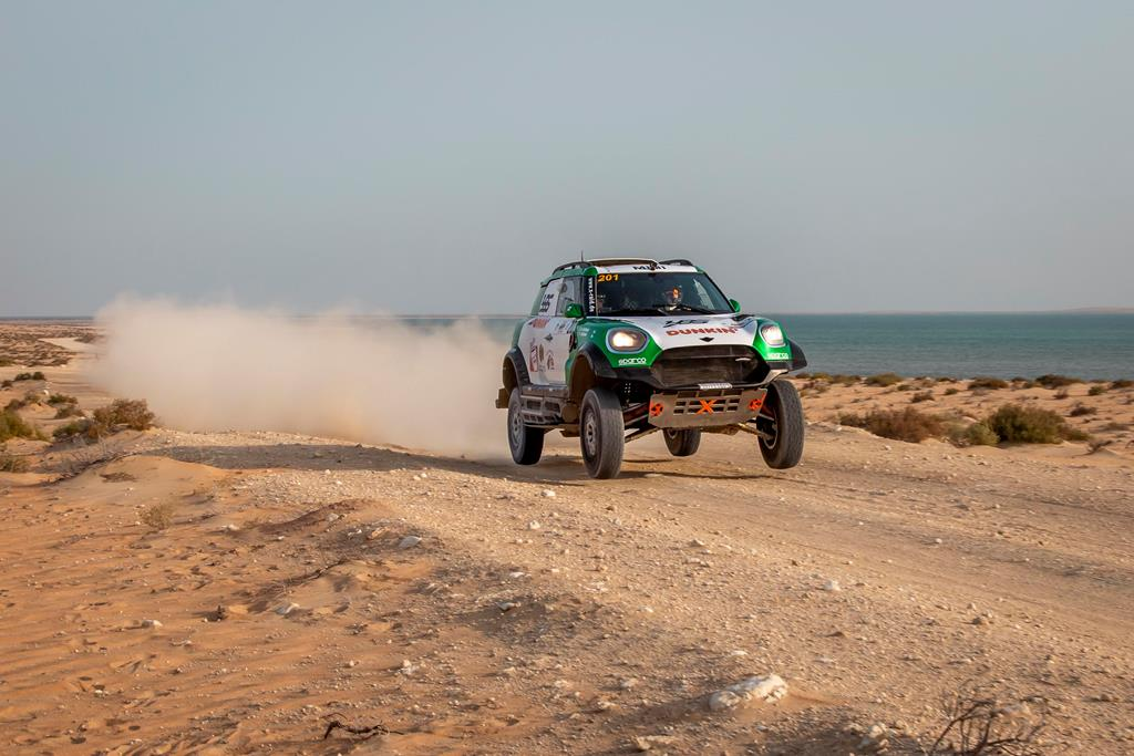 Yasir Seaidan won the 2021 Sharqiyah International Baja Toyota.