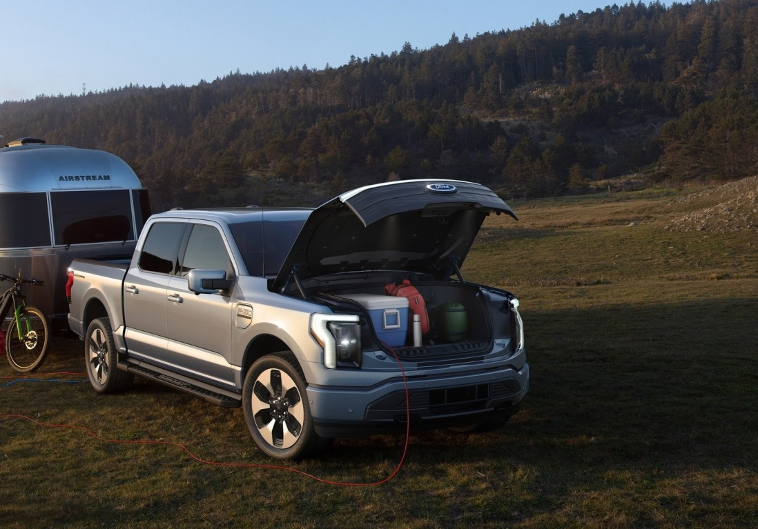 All-Electric Ford F-150 Lightning