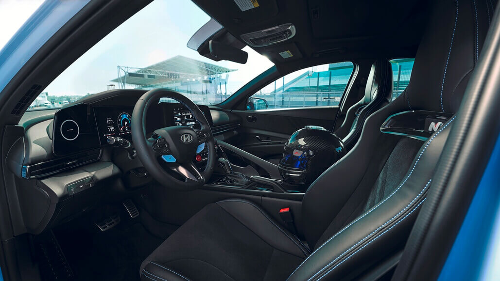Hyundai CN7 N Main Circuit Driving