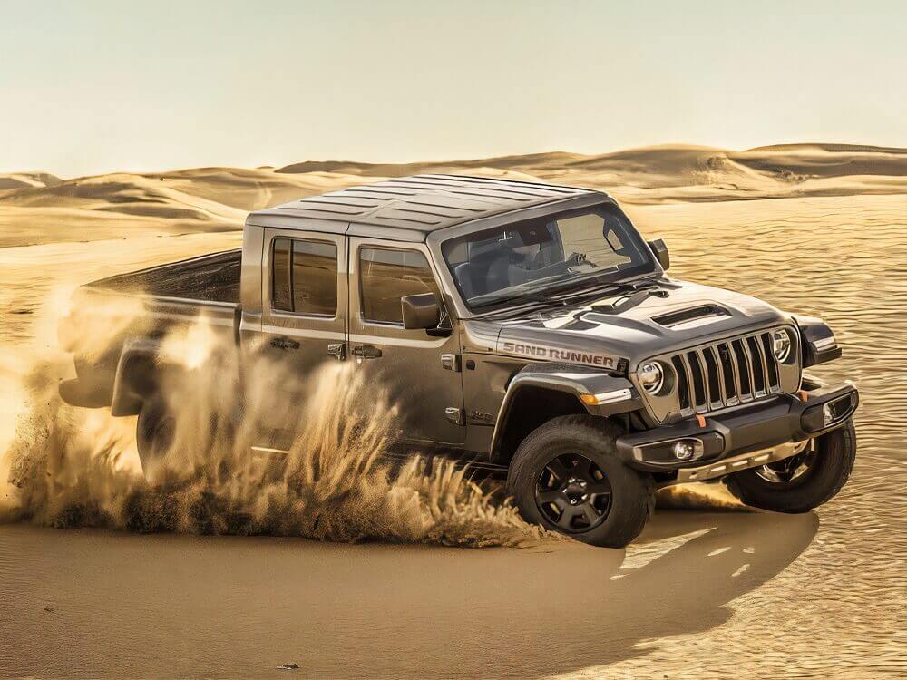 Jeep Gladiator Sand Runner